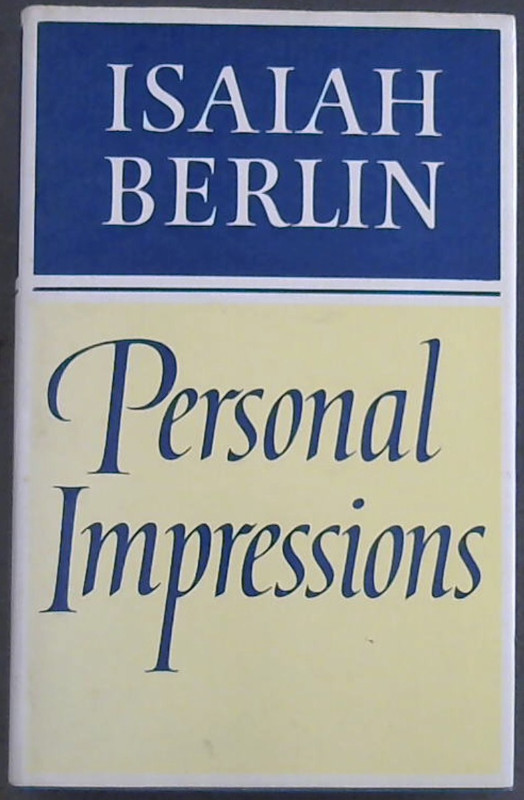 Image for Personal impressions