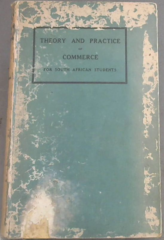 Image for Theory and Practice of Commerce for South African Students