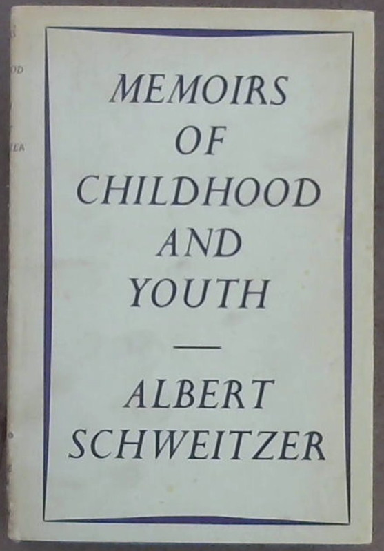 Image for Memoirs of Childhood and Youth