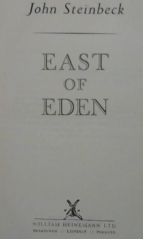 Image for East of Eden