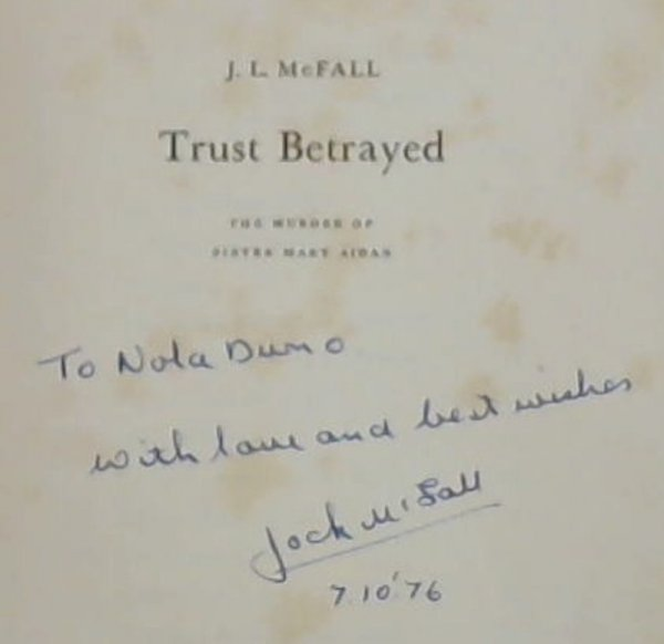 Image for Trust Betrayed : The Murder of Sister Mary Aidan