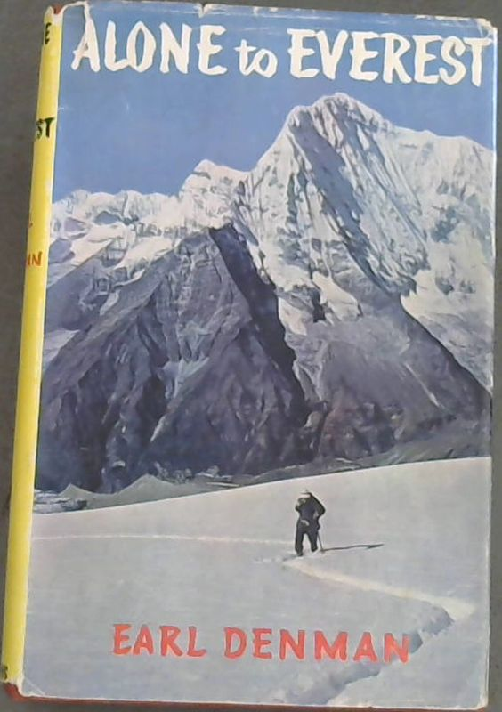 Image for Alone  to  Everest