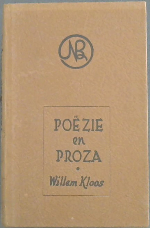 Image for Poezie en Proza