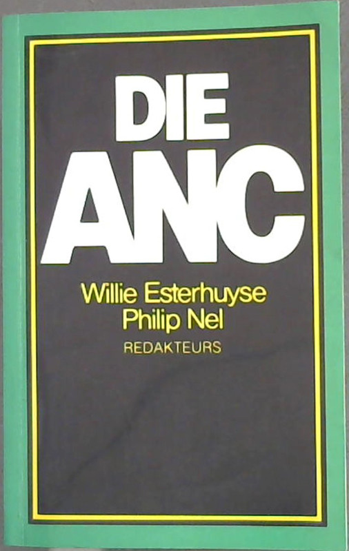 Image for Die ANC (Afrikaans Edition)