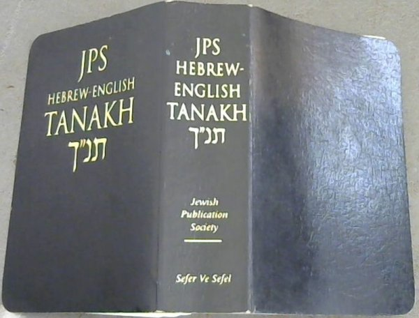 Image for JPS Hebrew-English Tanakh: Pocket Edition : The Traditional hebrew Text and the New JPS Translation