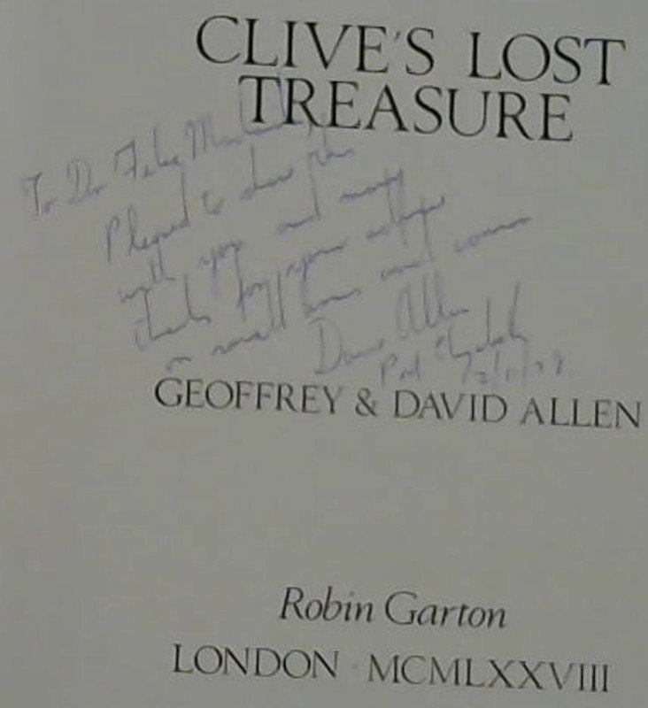 Image for Clive's Lost Treasure