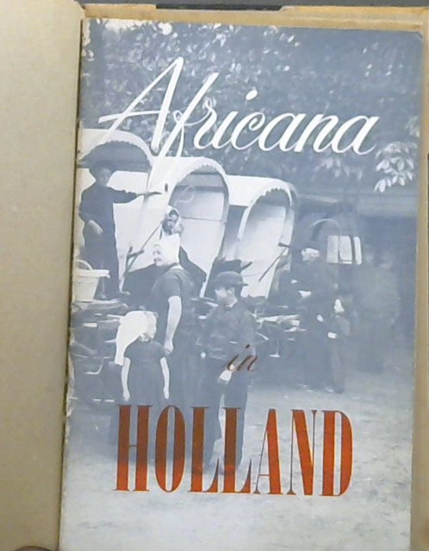 Image for Africana in Holland