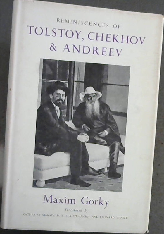 Image for 'REMINISCENCES OF TOLSTOY, CHEKHOV AND ANDREEV'