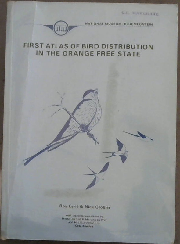 Image for First Atlas of Bird Distribution in the Orange Free State