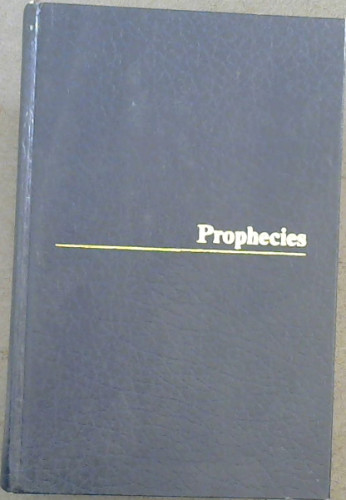 Image for Prophecies