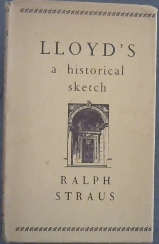 Image for Lloyd's : A Historical Sketch