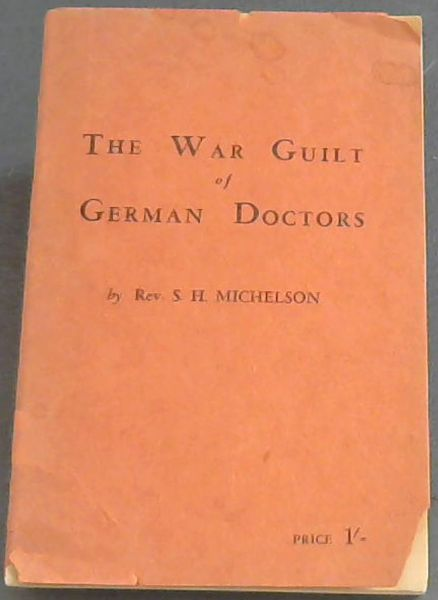 Image for The War Guilt of German Doctors