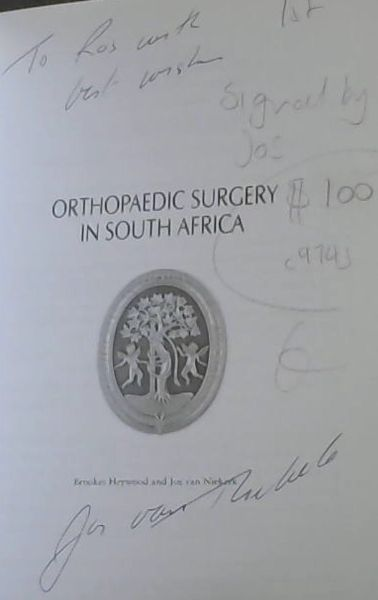 Image for Orthopaedic Surgery in South Africa