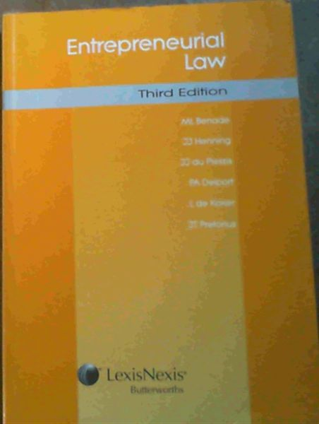 Image for Entrepreneurial Law : Third Edition
