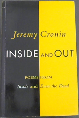 Image for Inside and Out: Poems from Inside and Even the Dead