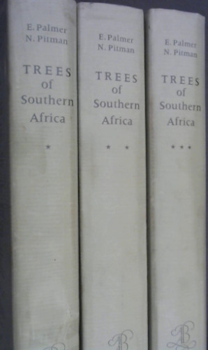 Image for Trees of Southern Africa covering all kknown indigenous species in the Republic of South Africa, South-West Africa, Botswana,, Lesotho & Swaziland - Three volumes