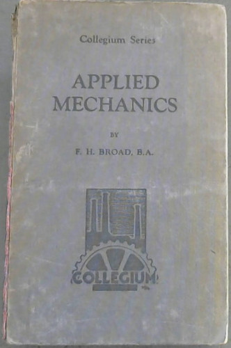 Image for Applied Mechanics for Technical Students