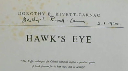 Image for Hawk's Eye