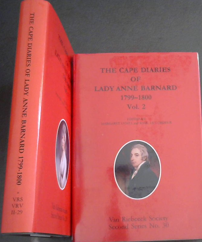 Image for The Cape Diaries of Lady Anne Barnard, 1799-1800 - 2 volumes (Van Riebeeck Society Second Series))