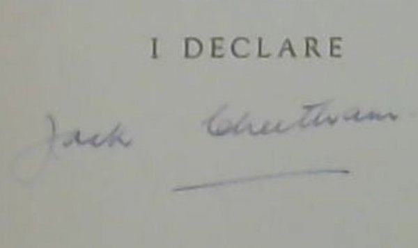 Image for I Declare