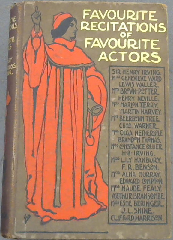 Image for Favourite Recitations Of Favourite Actors