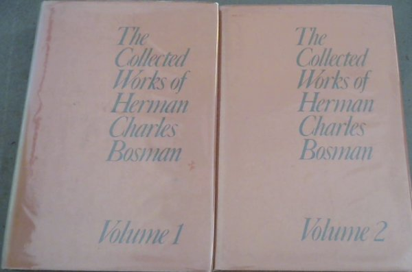 Image for The collected works of Herman Charles Bosman (2 Volume set)