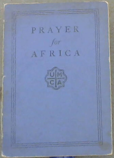Image for Prayer for Africa