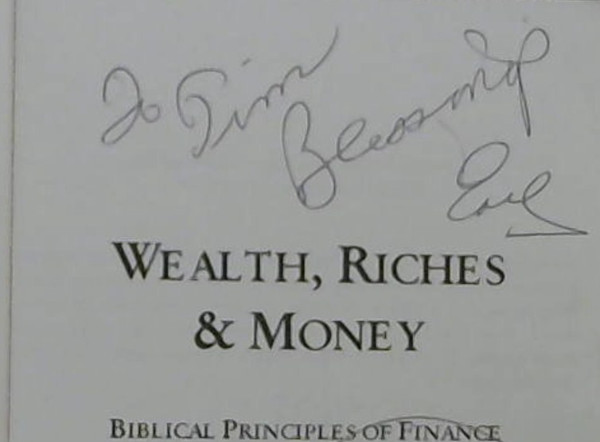Image for Wealth, Riches and Money