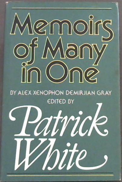 Image for Memoirs of Many in One (by Alex Xenophon Demirjian Gray)