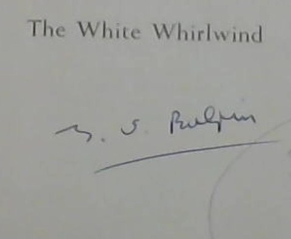 Image for The White Whirlwind