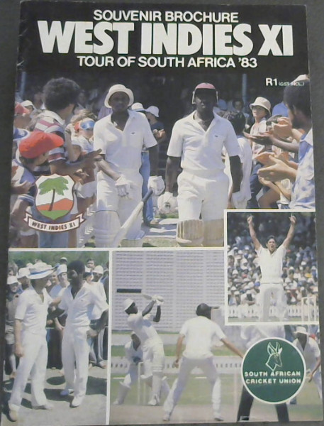 Image for Souvenir Brochure West Indies XI Tour of South Africa '83
