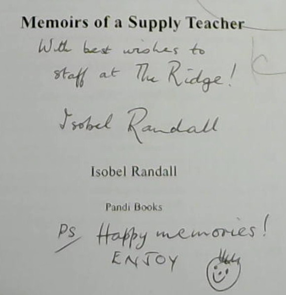 Image for Our Little Treasure : Memoirs of a Supply Teacher