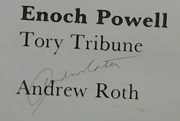 Image for Enoch Powell: Tory Tribune