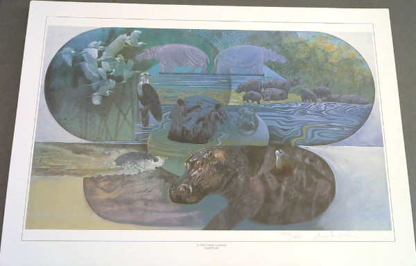 "Image for Wild Life Prints : Mark Enslin : ""In Their Watery Causeways"", ""Shangri-La"", ""The Yolk Thieves"" - Limited"