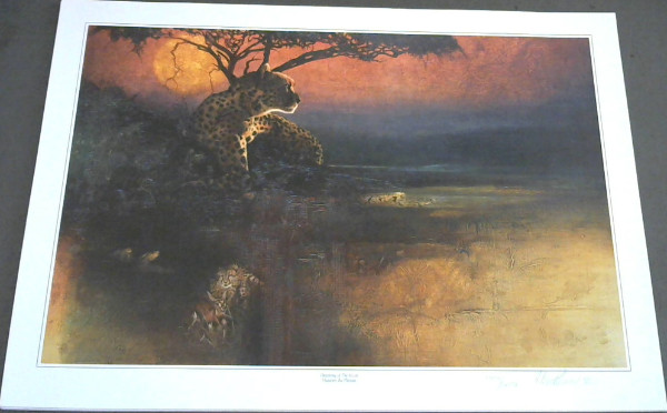 "Image for Wild Life Prints : Hannes du Plessis : ""In The Forest - Receding Forms"", ""Dawning of the Hunt"" - Limited"