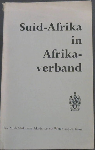 Image for Suid-Afrika  in  Afrikaverband