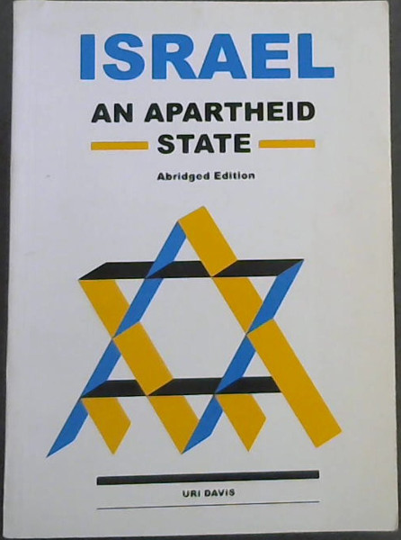 Image for Israel: An Apartheid State (Abridged edition , 2001)