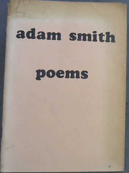 Image for Adam Smith Poems