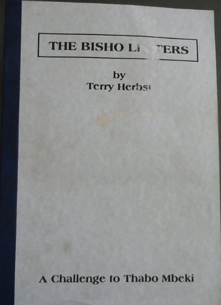 Image for The Bisho Letters : A Challenge to Thabo Mbeki