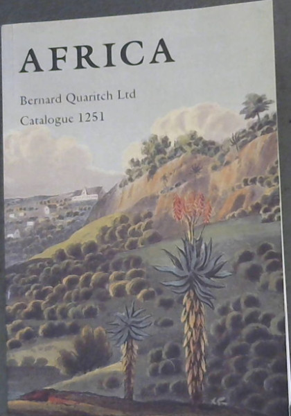Image for Africa - Bernard Quaritch Ltd Catalogue 1251
