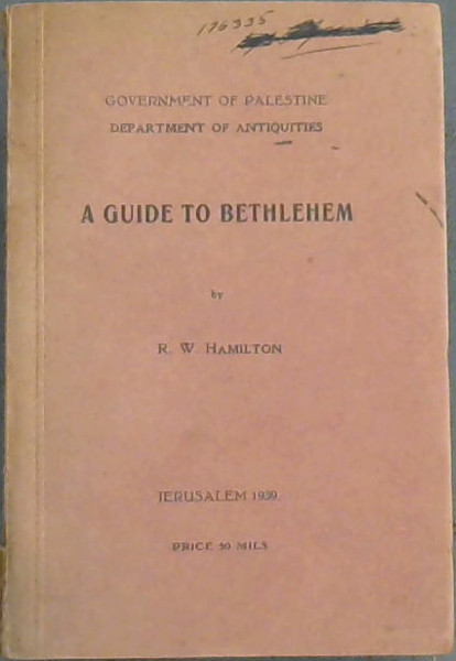 Image for A  Guide  To  Bethlehem