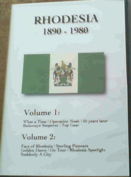 Image for Rhodesia 1890 - 1980 Volume 1 & Volume 2