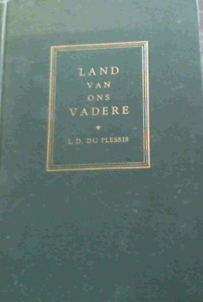 Image for Land van Ons Vadere