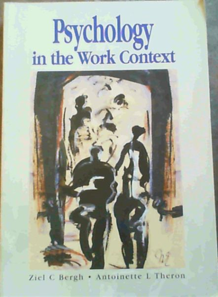 Image for Psychology in the Work Context