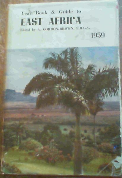 Image for Year Book & Guide to East Africa 1959
