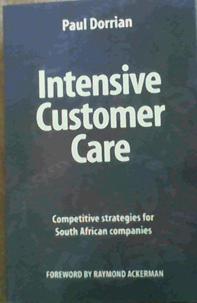 Image for Intensive Customer Care