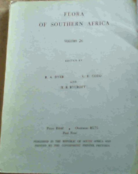 Image for Flora of Southern Africa Volume 26