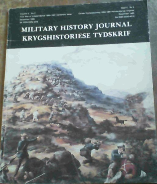 Image for Military History Journal; Krygshistoriese Tydskrif