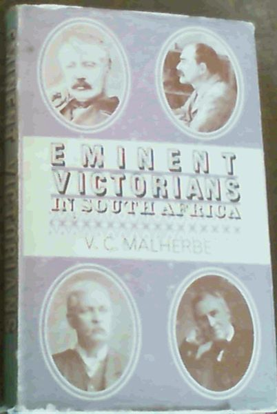 Image for Eminent Victorians in South Africa