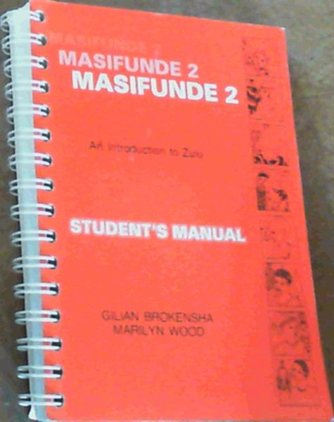 Image for Masifunde 2 : An Introduction to Zulu Student's Manual